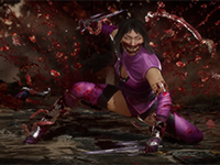 Mileena Is In A Stabbing Mood In Mortal Kombat 11