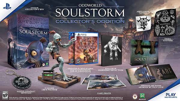 Oddworld: Soulstorm — Collector Oddition's