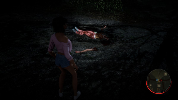 Friday The 13th: The Game — Topless Girl