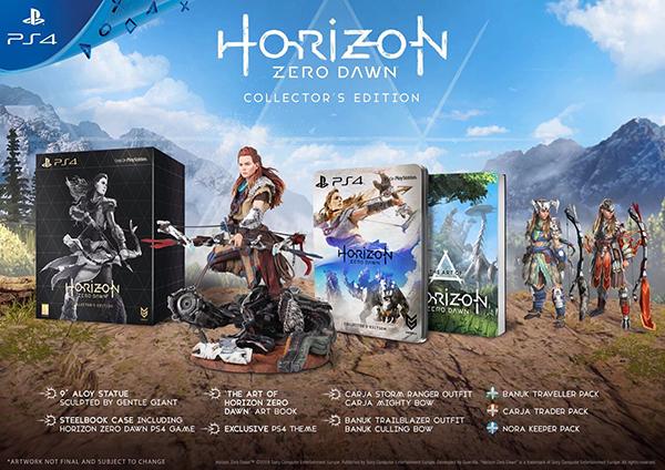 Horizon Zero Dawn — Collector's Edition