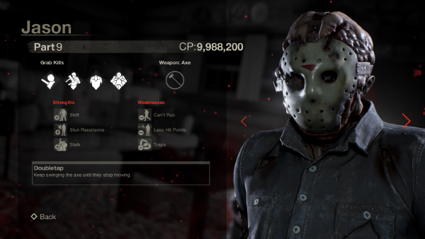 Friday The 13th: The Game — Jason Part 9