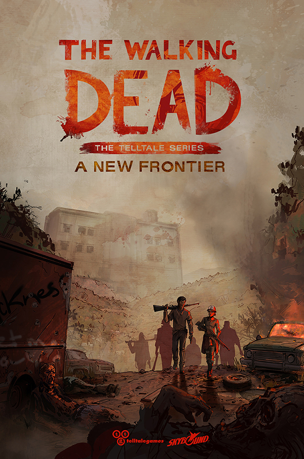 The Walking Dead: A New Frontier — Release