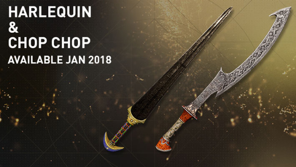 Assassin's Creed Origins — Harlequin And Chop-Chop Items
