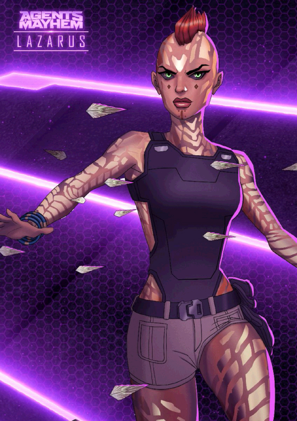 Agents Of Mayhem — Lazarus