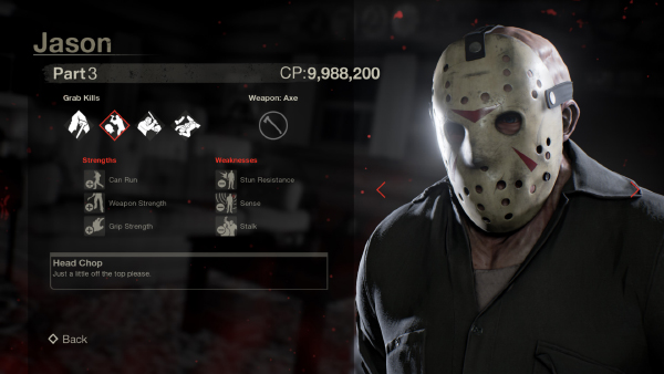 Friday The 13th: The Game — Jason Part 3