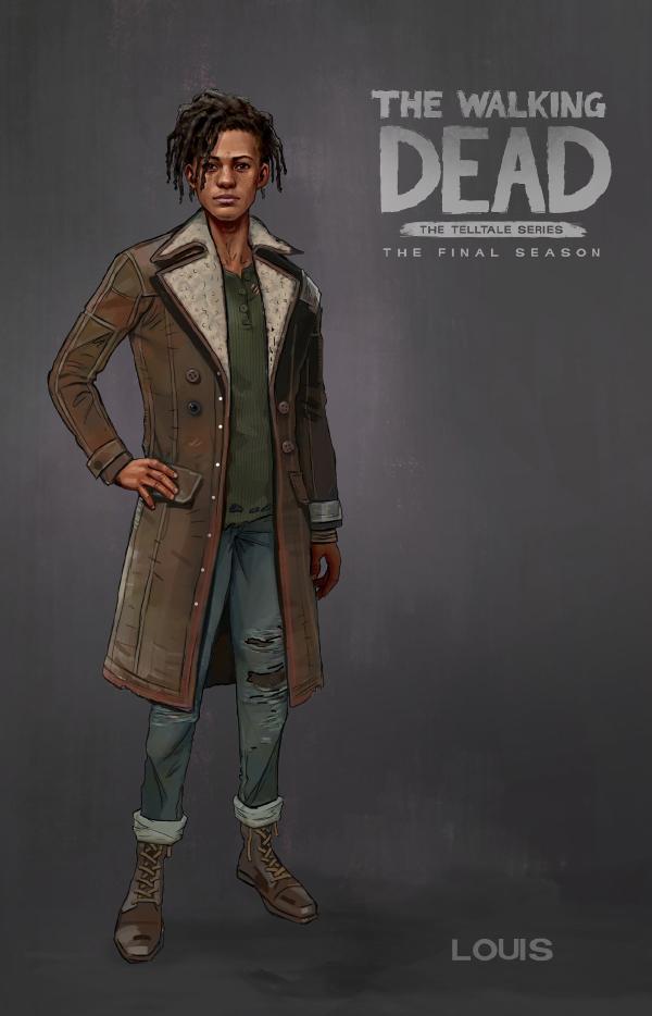 The Walking Dead: The Final Season — Louis
