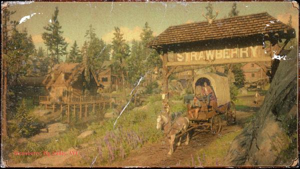 Red Dead Redemption 2 — Big Valley, WE