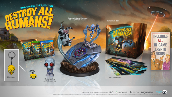 Destroy All Humans! — DNA Collector's Edition