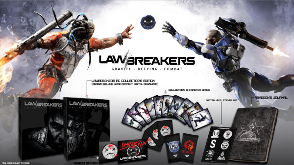 LawBreakers — Collector's Edition
