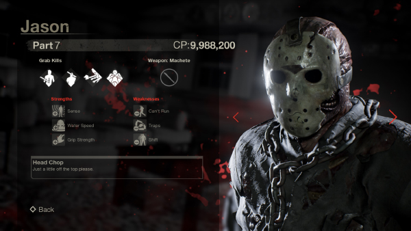 Friday The 13th: The Game — Jason Part 7