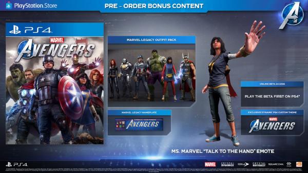 Marvel's Avengers — Pre-Order Bonus