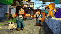 Minecraft: Story Mode — Season 2 — Beacon Town With Stampy And Stacy