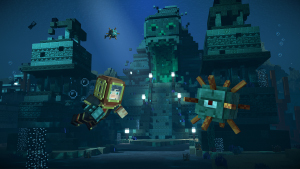 Minecraft: Story Mode — Season 2 — Sea Temple Exterior
