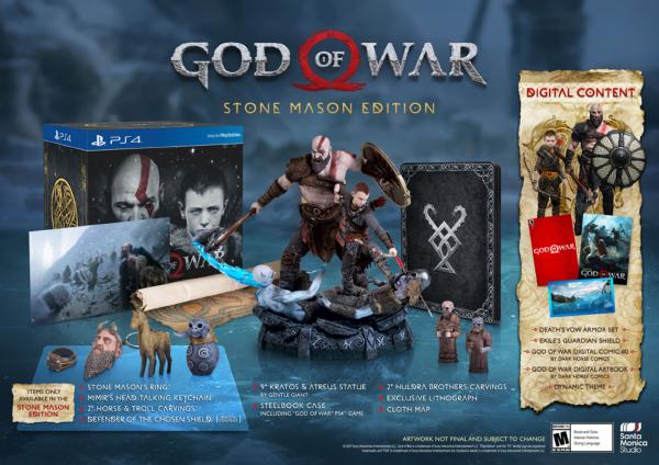 God Of War — Stone Mason Edition