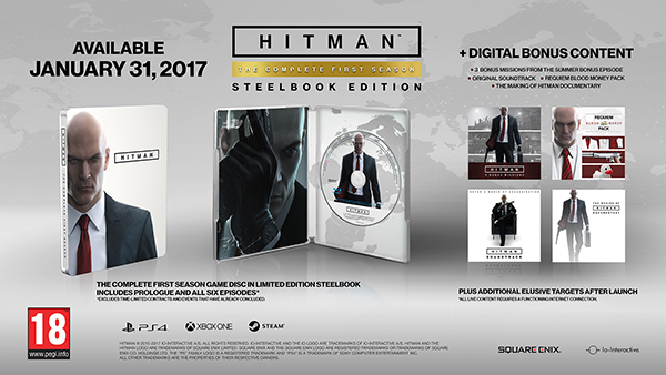 Hitman — The Complete First Season
