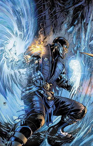 Mortal Kombat X - Comic Book Sub Zero