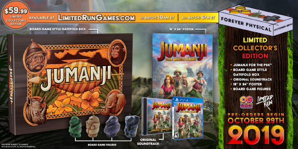 Jumanji: The Video Game — Collector's Edition