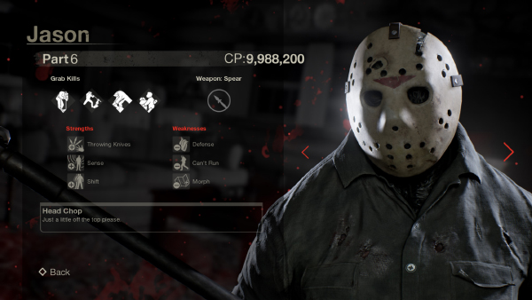 Friday The 13th: The Game — Jason Part 6