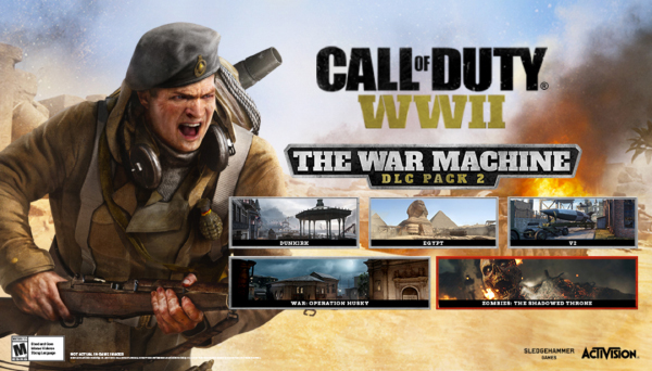 Call Of Duty: WWII — The War Machine