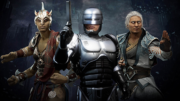 Mortal Kombat 11 — Sheeva, Robocop, and Fujin