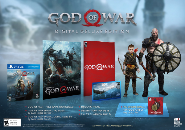 God Of War — Digital Deluxe Edition