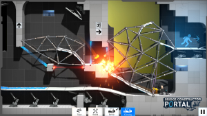 Bridge Constructor Portal — Review