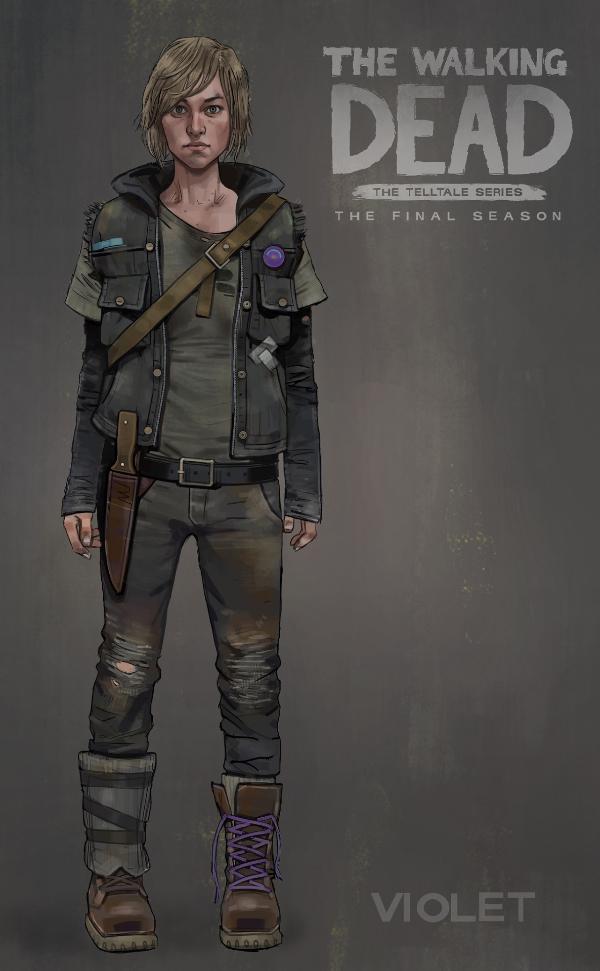 The Walking Dead: The Final Season — Violet