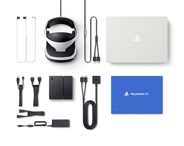 PlayStation VR — In The Box
