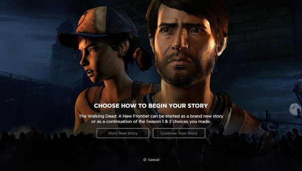 The Walking Dead: A New Frontier — Continue Your Story