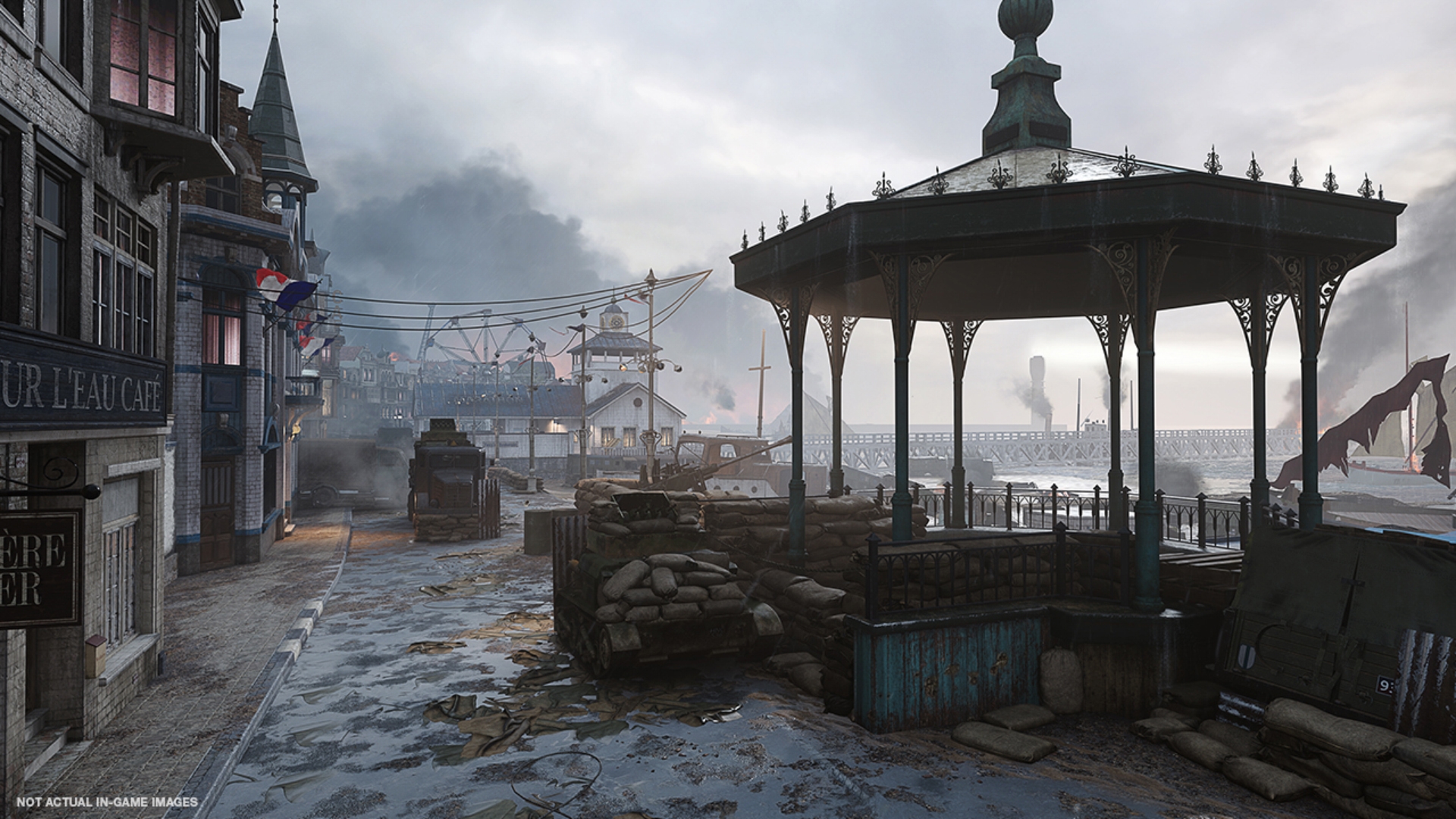 Dunkerque en Call of Duty: WWII