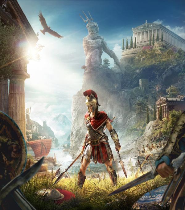 Assassin's Creed Odyssey — Kassandra Box Art