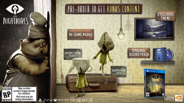 Little Nightmares — Pre-Orders