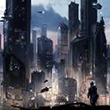 Halo 5 — Multiplayer Beta Concept Art Empire Cityscape