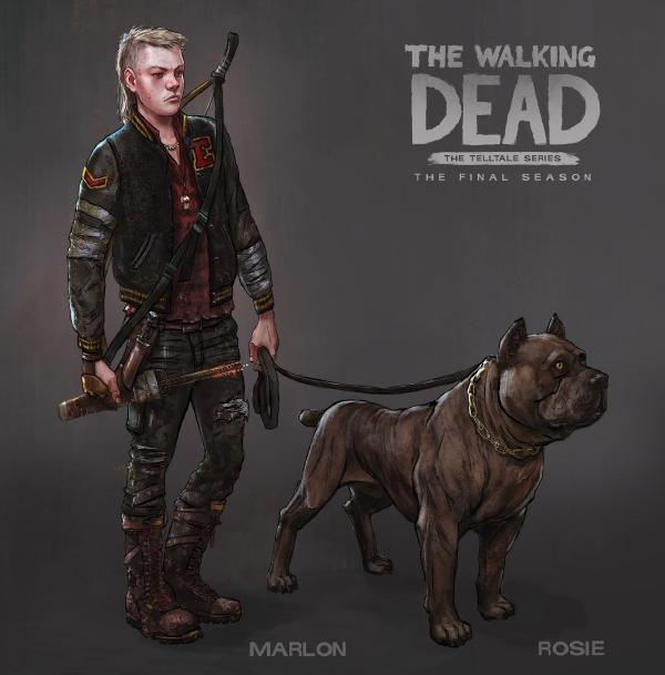 The Walking Dead: The Final Season — Marlon