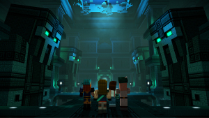 Minecraft: Story Mode — Season 2 — Sea Temple Interior
