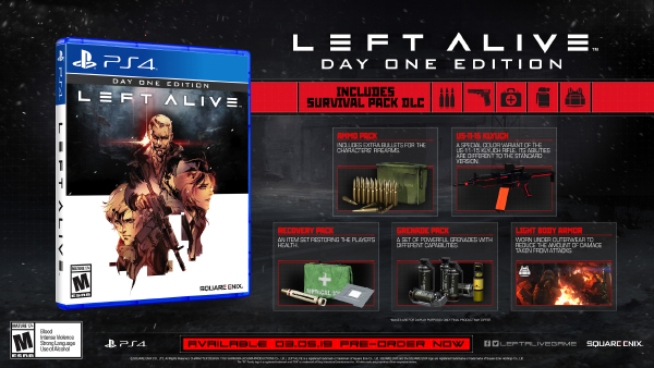 Left Alive — Day One Edition