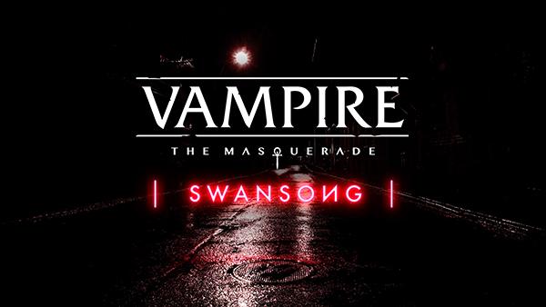 Vampire: The Masquerade — Swansong — Logo