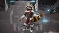 Marvel Vs Capcom: Infinite — Rocket Raccoon (Rocket Space Suit Costume)