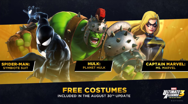 Marvel Ultimate Alliance 3: The Black Order — Free Costumes
