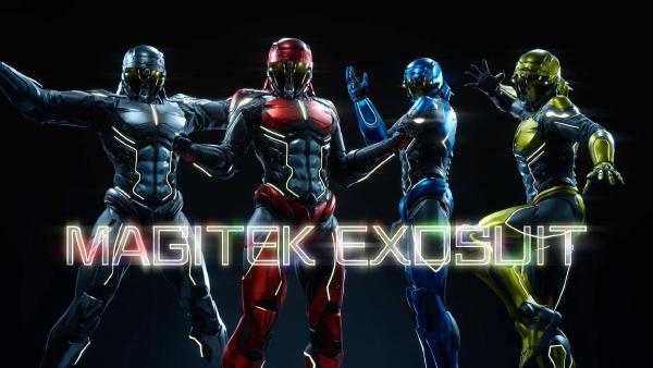 Final Fantasy XV — Magictek Exosuit