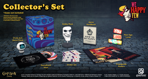 We Happy Few — Collector's Set
