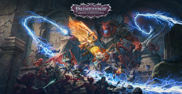 Pathfinder: Wrath Of The Righteous — Key Art